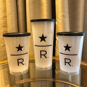 🖤 TWO (2) STARBUCKS RESERVE CUPS!
